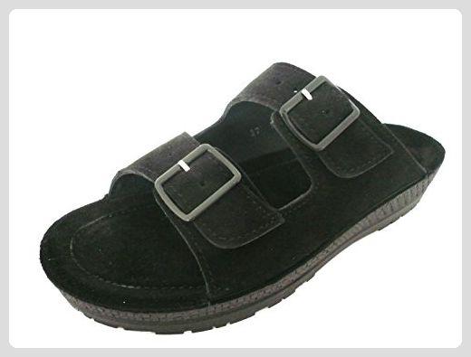 BIRKENSTOCK Damenschuhe Florida BF Sandale mit Lack-Optik, Fußbett, Rot (Wine), EU 42, Schmal