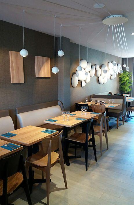 Un Restaurant De Reve Pour Un Mobilier Vauzelle Sur Mesure Banquette Juliette Banquette Interieur De Boulangerie Mobilier Restaurant Mobilier Professionnel