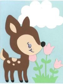 Cricut Create a Critter card