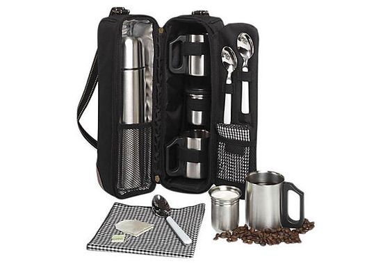 Picnic Coffee Tote for 2