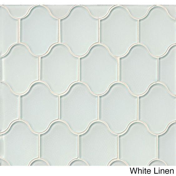 Bedrosians Mallorca Collection Palma Glass Mosaic Cliff Tile (11 sheets per box) (