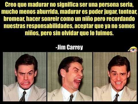 Resultado de imagen de Frases de Jim Carrey