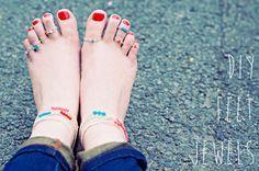Swarovski Anklets & Toe Rings