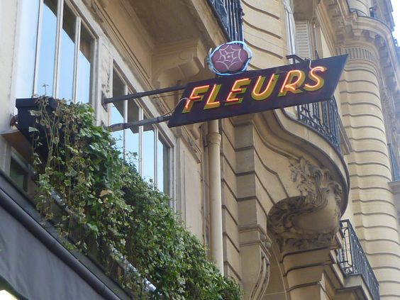 shop sign, paris, le marais district