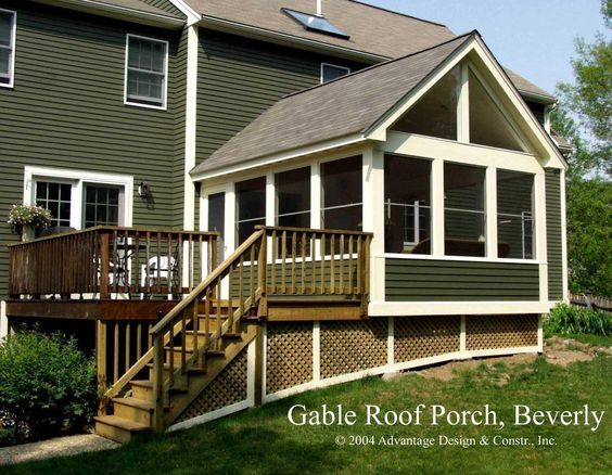 House Trim 3 Season Porch And Decks On Pinterest