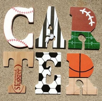 60 Ideas Painting Wood Letters Boy Initials For 2019 Painted Wood Letters Painted Letters Painting Wooden Letters