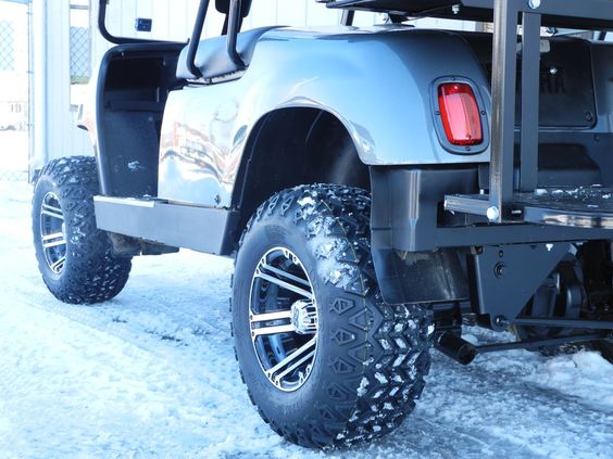 Golf Carts  Charcoal Gray And Golf Cart Tires On Pinterest