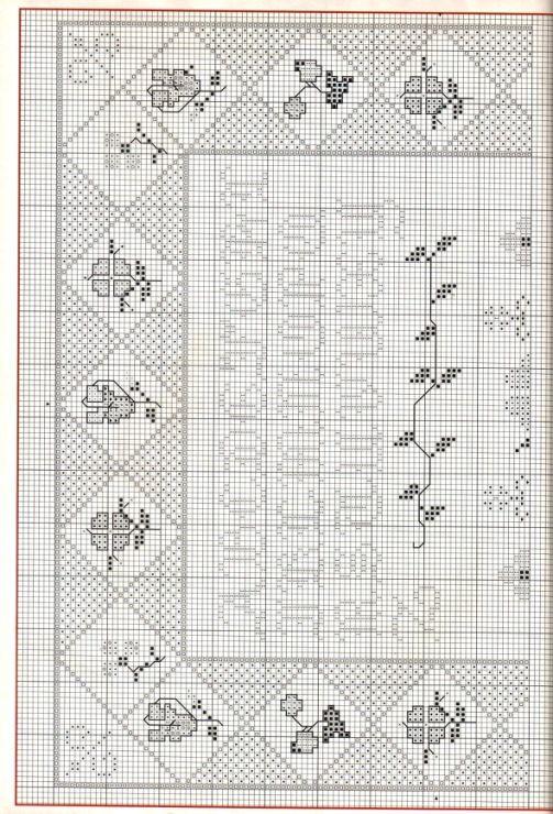 Floral Sampler • 2/3 Upper Chart