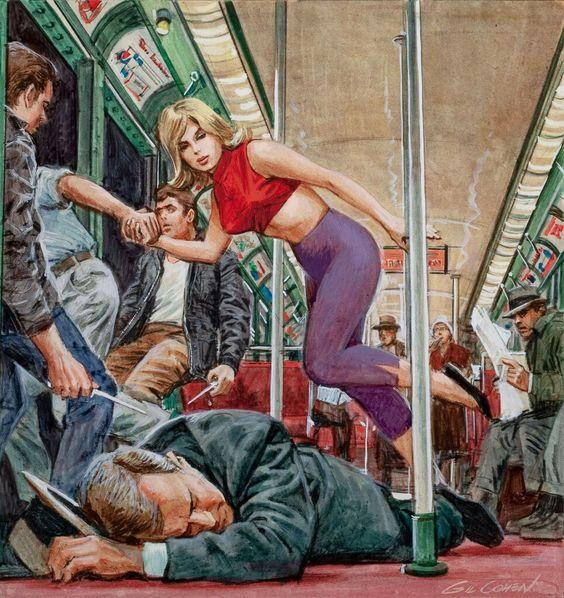 pulp artist Gil Cohen.