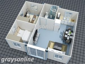 Expandable Building Granny Flat Auction 0001 5025484 Modern House Floor Plans Barn Homes Floor Plans Building A Container Home