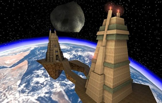 Unreal Tournament's 'Facing Worlds' Is Still The Best Multiplayer Map