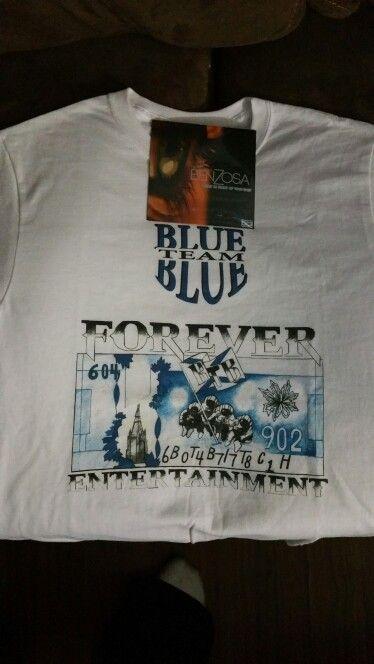 New Blue Team Blue Tee shirt's