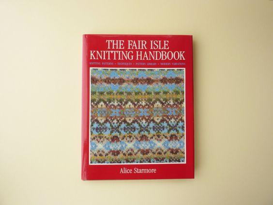 Fair isle knitting, Knitting books and The fair on Pinterest