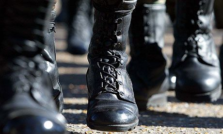 Disciples of discipline put the boot in