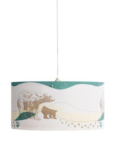 Coole Lampenschirm mit Eisbären-Motiv von Vertbaudet