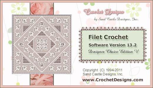 Crochet Pattern Program : Crochet Designs, Filet Crochet Software (how to easily ...