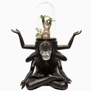 Plants of Gods terrarium by Prodip Leung. Via.