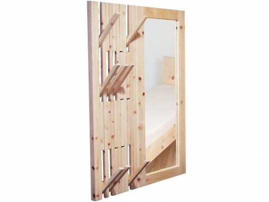 wandgarderobe aus zirbenholz zirben garderobe mit. Black Bedroom Furniture Sets. Home Design Ideas