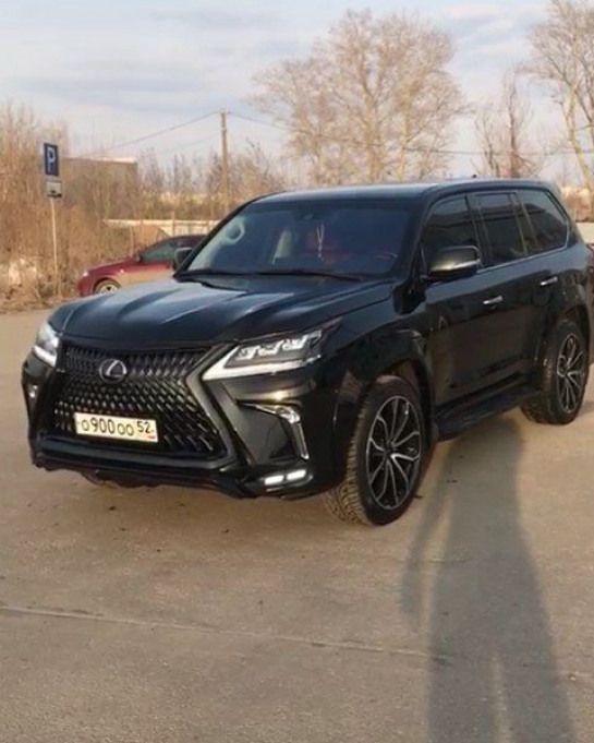 Black Edition Lexus Lx450d Khann Hrs Video Nsk Nn