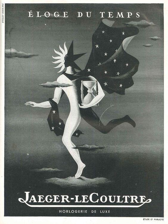 Éloge du temps, Jaeger-leCoultre (horlogerie de luxe) - Réalités n°41, juin 1949