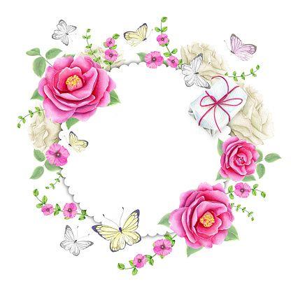 Psiu Noiva - Mais de 30 Frames Florais Para Download Grátis 15