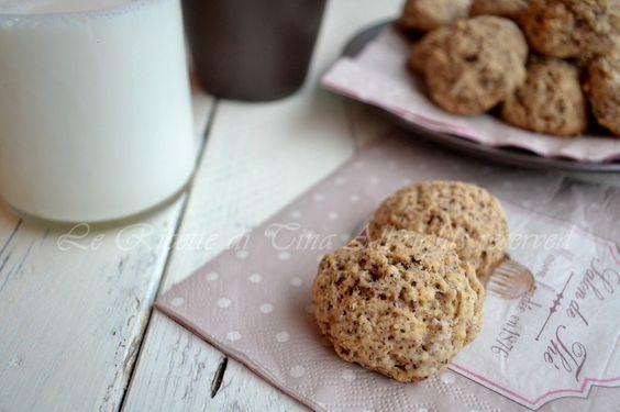 Biscotti ricotta e cioccolato,con e senza uova buoni,semplici e veloci