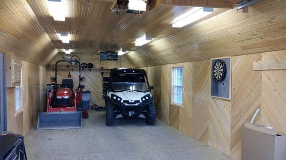 Garage Renovation Man Cave : Portable garage delivered fully assembled and