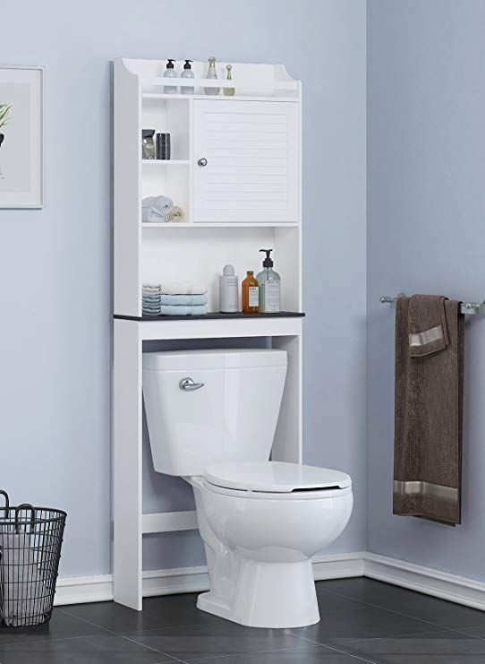 Amazon Com Spirich Home Bathroom Shelf Over The Toilet Bathroom