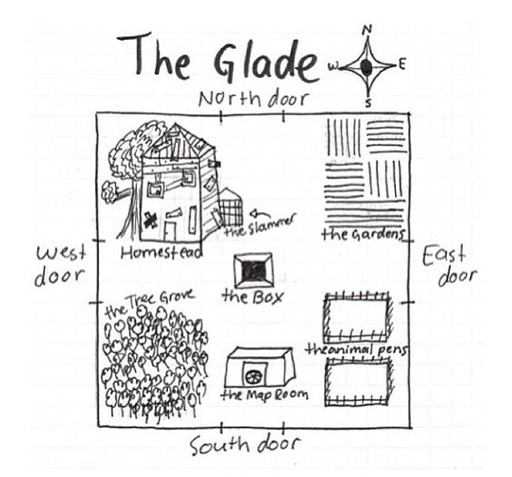 The glades, Maze and The maze runner on Pinterest