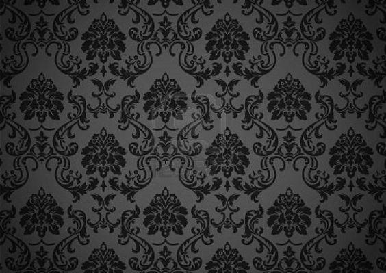 Dark Baroque Wallpaper Royalty Free Cliparts Vectors And Stock Design 1200x849 Pixel