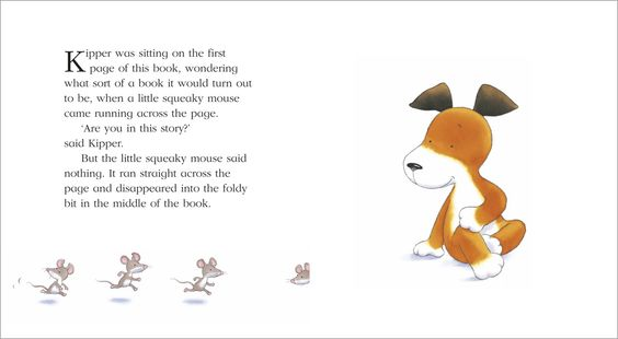 Kipper the Dog - Created by Mick Inkpen. More often than not, the characters are drawn relying on only one eyebrow for emotion. Most of the characters are the same height and made of the same shapes, perhaps to make them feel familiar to the young audience. Consistency is comforting right? The blur given to the colored lines makes the characters feel soft, no harsh lines anywhere. Dot eyes for everyone! Except for frogs for some reason.
