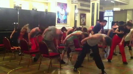 Dans les coulisses du Bal des Vampires - Atelier de danse