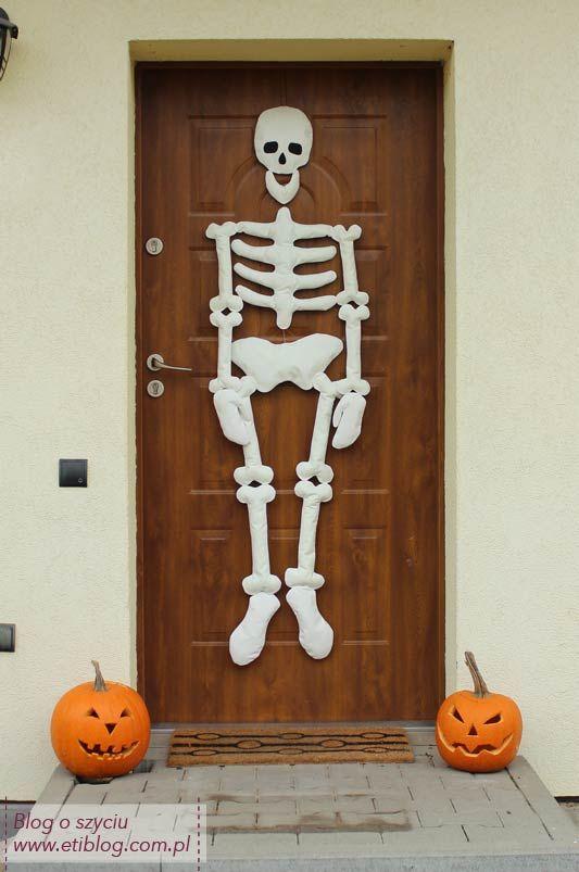 Jak uszyć dekoracje na halloween (kościotrup) - opis jak uszyć - eti blog