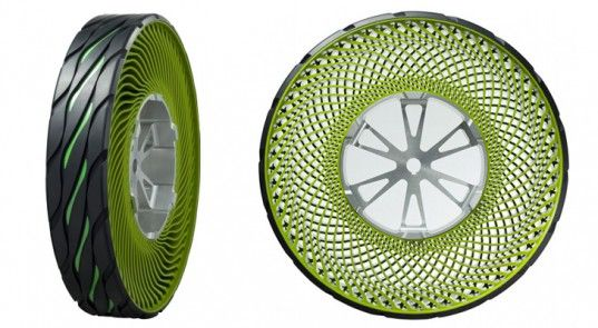Découvrez un pneu sans air increvable - Mon Coin Design