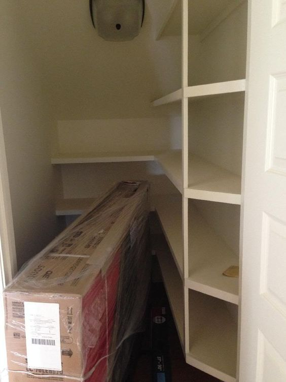 Under Stairs Pantry Under Stairs And Be Better On Pinterest