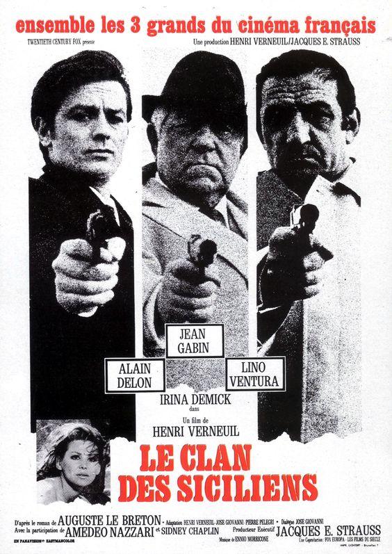 Le clan des Siciliens, de Henri Verneuil - 1969