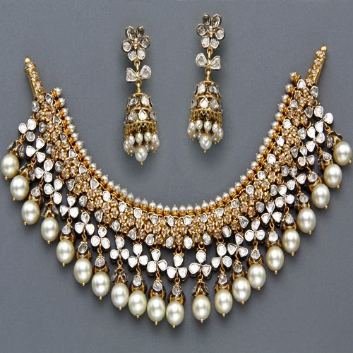 Indian Jewellery And Clothing Polki Necklace Sets From: Indian Jewellery And Clothing