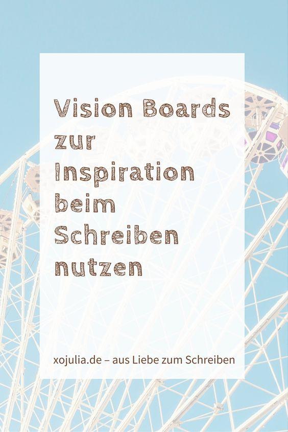 Vision Boards. Inspiration Board. Auf Englisch hört sich das wieder mal irgendwie gut an. Außerdem bestehteine echte Pinnwand aus einer Korkwand oder ähnlichem mit Heftzwecken, aber ein Vision Board kann auch ein großes beklebtes Poster sein, ein Stück alte Tapete, der Begriff ist neutraler.Vision Boards (ich meine in diesem Artikel mit Inspiration Board das gleiche)...Read More »