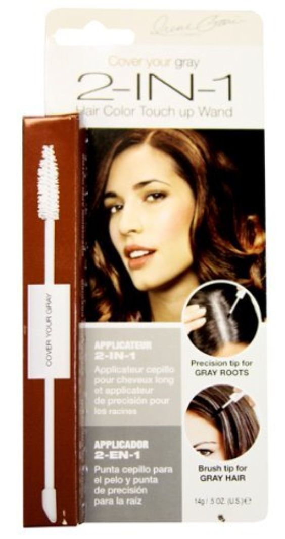 Cover Your Gray Hair Coloring 2-In-1 Dark Brown .5 oz. (Pack of 2) by Cover Your Gray -- Awesome products selected by Anna Churchill