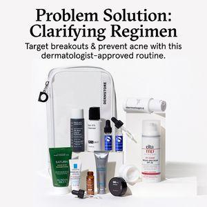 Problem Solution Clarifying Regimen Dermstore In 2020 Dermatologist Acne Prevent Acne Problem And Solution