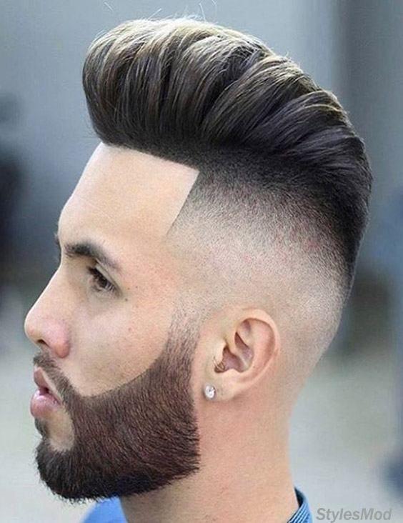Easy Best Men S Hairstyles Ideas You Need To Try In 2018 Stylesmod Mens Hairstyles Pompadour Pompadour Fade Skin Fade Pompadour