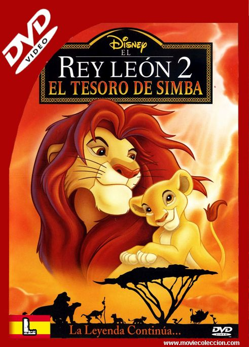 El Rey León 2 1998 DVDrip Latino ~ Movie Coleccion