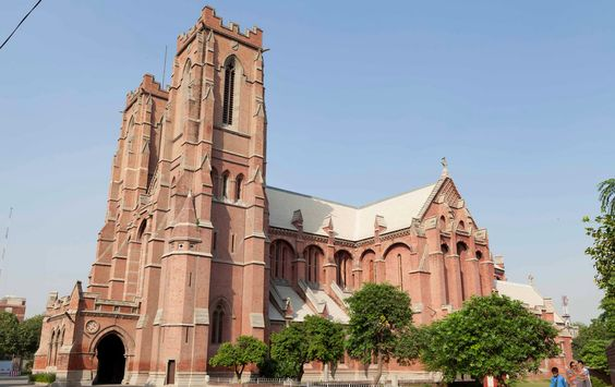 Cathedral Church of Resurrection in Lahore.:
