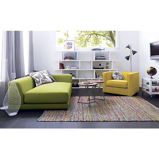Cb2 Recycled Cotton Rug