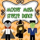 Monster Mash Freeze Dance