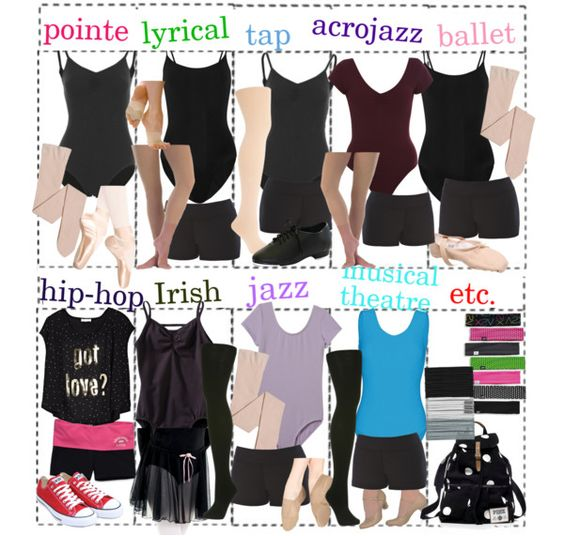 U0026quot;DANCE CLASS; WHAT TO WEAR U0026 MOREu0026quot; By Jaelyn-xo Liked On Polyvore | Polyvore | Pinterest | Jazz ...