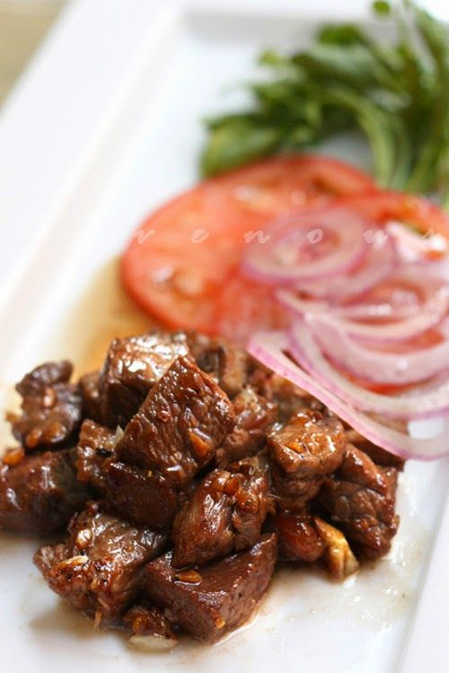 Bo Luc Lac - Shaking Beef + Click For Recipe! #easy #recipes #asian #vietnamese