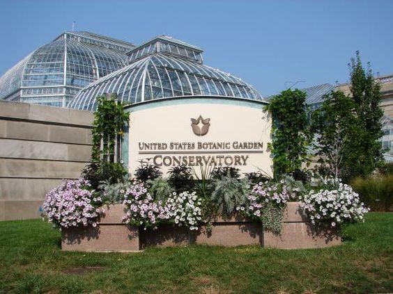 U S Botanic Garden Pinterest Gardens Washington And The O 39 Jays