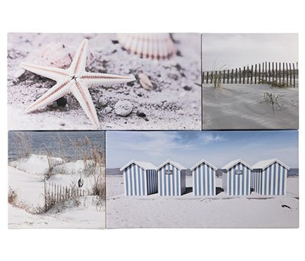 Set de canvas 60 x 90 cm set nature mar estrella leroy merlin dormitorio grande pinterest - Canvas leroy merlin ...