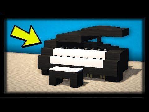 Comment Faire Un Piano Ultra Realiste Dans Minecraft Tuto Build Build Comm In 2020 Minecraft Designs Minecraft Crafts Minecraft Projects